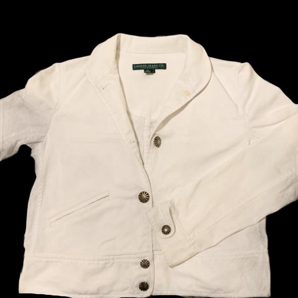Lauren Jeans Co classic denim jacket S